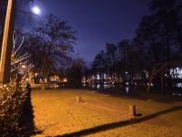 Nachtaufnahmen: Hochwasser auf der Wöhrder Wiese – Testbilder vom Samstag