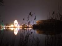 Nachtaufnahmen: Dutzendteich Nürnberg