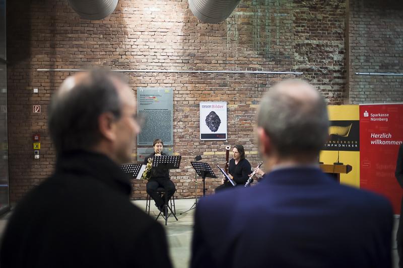 Vernissage Meine Bilder 2014 bei den Symphonikern Nürnberg